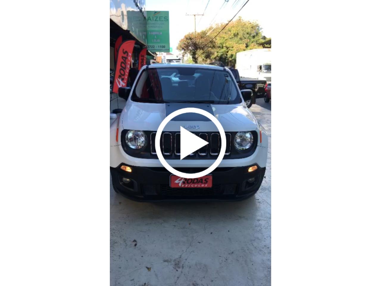 Renegade 1.8 16V 4P FLEX SPORT AUTOMÁTICO