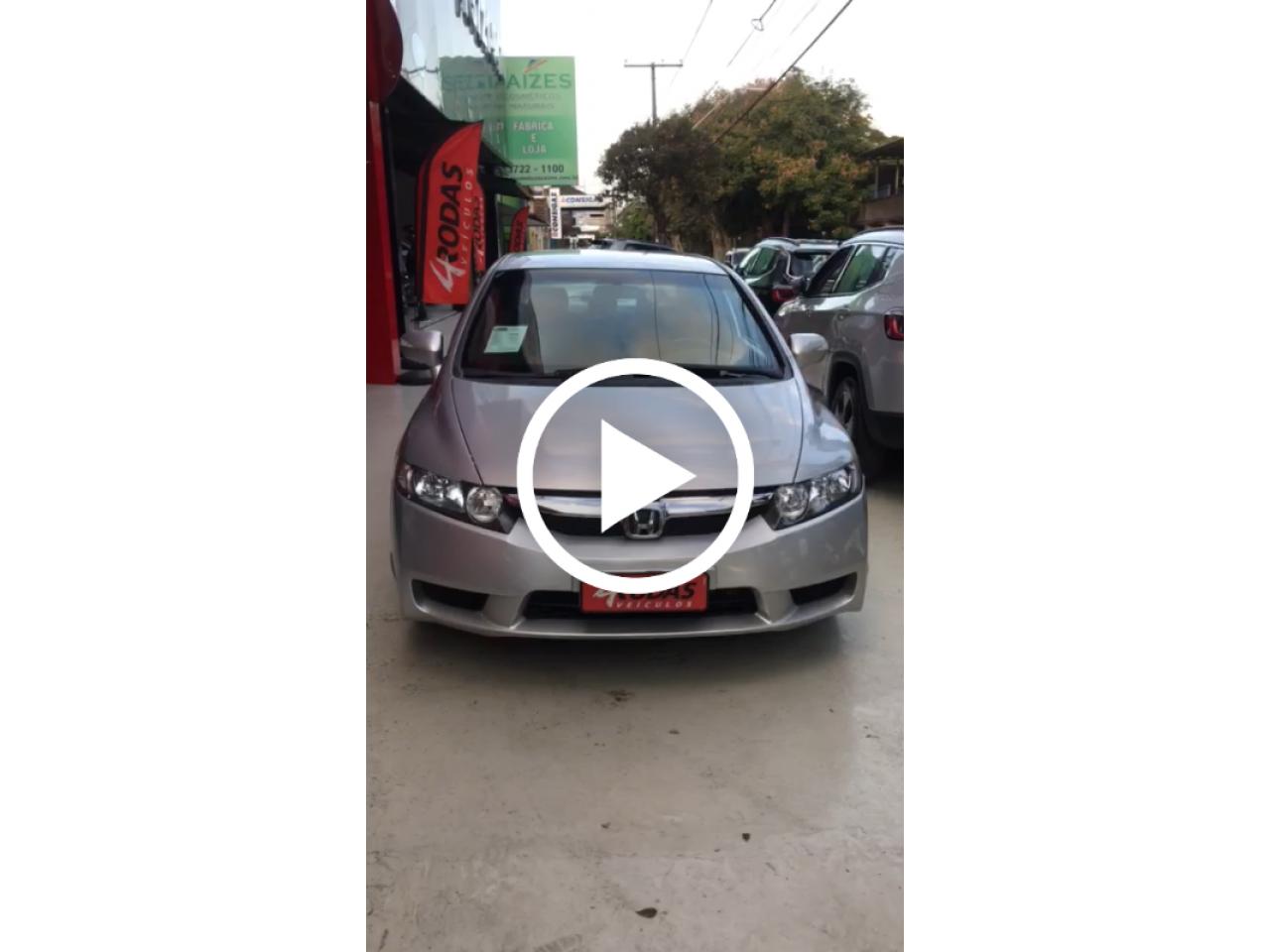 Civic 1.8 16V 4P FLEX LXL SE AUTOMÁTICO